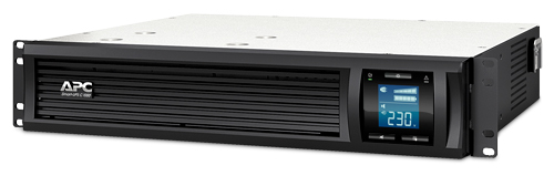 APC Smart-UPS C 1000VA 2U Rack mountable LCD 230V - SMC1000I-2U